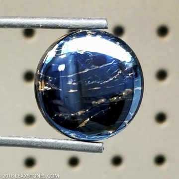 Rare High Grade Butte Iridescent Covellite Gemstone Cabochon Hand Crafted By LEXX STONES 66 Carats