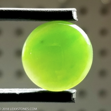 High Grade Siberian Nephrite Jade  Gemstone Cabochon Hand Crafted by LEXX STONES 13 Carats